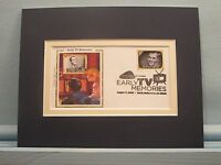 The Ed Sullivan Show & First Day Cover of his own stamp