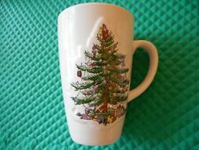 "SPODE ENGLAND  EXTRA LARGE JUMBO CHRISTMAS TREE MUG 6"" TALL 20oz S3324-A10"