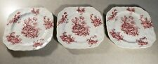Set of 3 Vinatge Pastorale Toile De Jouy Johnson Brothers Made in England Plates