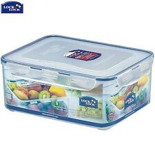 Lock And Lock Rectangular Container With Freshness Tray 5.5L Food Storage New