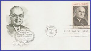 USA5 #1499 U/A ARTMASTER FDC Harry S. Truman - 33rd President