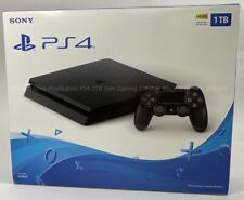SEALED Sony PlayStation PS4 1TB Slim Gaming Console Black NEW free shipping