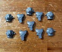 Warhammer 40k Space Marine Bits: Mark III Horus Heresy Iron Armor Torso x5