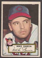 1952   TOPPS  BASEBALL  # 272  MIKE GARCIA   INV  10607
