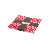 """Robert Kaufman, Teapot Garden, 10"""" Fabric Squares, TEN-760-42, B08"""