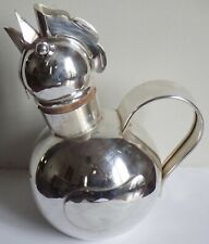 RARE VINTAGE ART DECO NAPIER SILVER PLATE ROOSTER FIGURAL COCKTAIL PITCHER