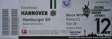 Ticket 2012/13 Hannover 96-Hamburger SV