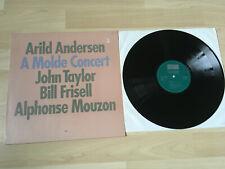 ARILD ANDERSEN, BILL FRISELL, ALPHONSE MOUZON A MOLDE CONCERT LP ORIGINAL VINYL