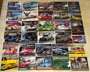 """""""MONSTER"""" COLLECTION OF """"100"""" DIFFERENT OLD & NEW PRO MOD DRAG RACING HANDOUTS!!"""