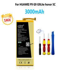 3000mAh Replacement Internal Li-Ion Battery for Huawei P9 G9 Lite honor 5C+tools