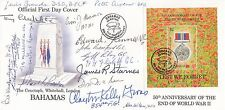 Bahamas FDI 50th Anniv of the End of World War 11 Signed 16