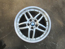 01 02 03 BMW 525i ALLOY WHEEL RIM FACTORY 10 SPOKE, TWIN SPOKE RARE R00023254