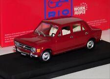 FIAT 128 DARK RED 1969 RIO 1:43