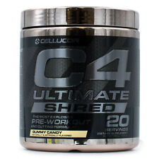 Cellucor C4 Ultimate Shred (20srv) Pre-Workout Build Muscle Energy and Endurance