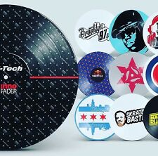 "CUSTOM SERATO   Control vinyl 12"" Pair    With Your LOGO/ Design"