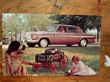 1963 Studebaker Cruiser Limousette Postcard Advertisement Vg+ Unused St.Bernard