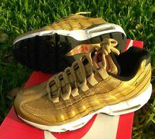6 WOMEN'S NIKE AIR MAX 95 QS Metallic Gold 90 97 814914 700 casual shoes plus