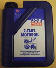 LIQUI MOLY 1052 2T 2-takt-motoröl Huile de mélange 2-takter 1L Vélomoteur mopet