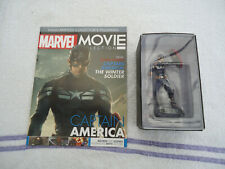MARVEL MOVIE COLLECTION CAPTAIN AMERICA FIGURINE & MAGAZINE Eaglemoss NEW