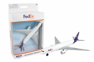 Daron FedEx Express Single Die Cast Metal Collectible Plane