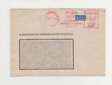Brief Freistempel rot (21a) BIELEFELD 2 mit Notopfer Berlin 26 7 49 GUNDLACH AG