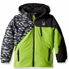 Spyder Boys Mini Ambush Jacket,Ski Snowboarding Jacket, Size 2 Toddler Boys, Nwt