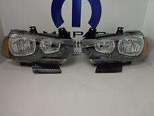 11-14 Dodge Charger Headlamp Light Bulbs Halogen LMB Right & Left Mopar Oem