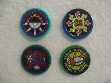4 Stack n Smack Slammers Pogs Bottle Caps Milkcaps Boys & Girls