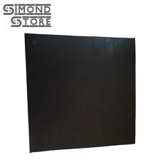 "Neoprene Rubber Sheet Black 1/4"" thick x 12"" x 12"" FREE SHIPPING 55A+/-5"