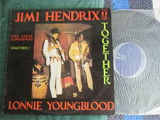 """JIMI HENDRIX TOGETHER LONNIE YOUNGBLOOD LP VINYL RECORD 12"""""""