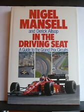 IN THE DRIVING SEAT - NIGEL MANSELL Hardback 1989 SIGNED by NIGEL MANSELL