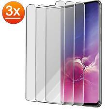 3x 9h lámina de tanques de vidrio contra lámina de vidrio cristal, pantalla lámina de protección templado claro