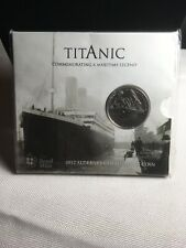 Rare 2012 Titanic Comemmorative Royal Mint 5 Pound Coin Still Sealed As Original