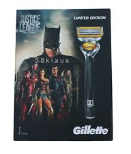 Gillette Fusion ProShield Justice League Rasierer Set inkl. 4 Klingen / 1 + 3