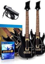 PS4 Guitar Hero Live Supreme Party*2New Guitars*2NewDongles*NewMic*Straps*GHGame