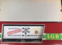 LGB 4070 BUDWEISER REEFER CAR
