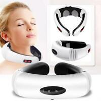 Appareil de Massage Électrique Masseur à Vertèbres Cervicales Cou Masse douleur