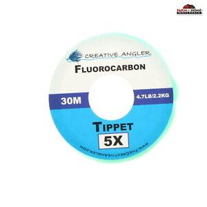Fluorocarbon Fly Fishing Tippet Line 1X 2X 3X 4X 5X ~ NEW