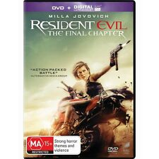 RESIDENT EVIL:The Final Chapter-DVD-Milla Jovovich-Region 4-New AND Seale