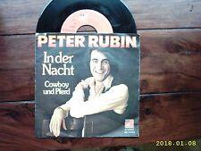 """PETER RUBIN: rare 7"""": IN DER NACHT/COWBOY UND PFERD Original 1972, BASF-Pressung"""