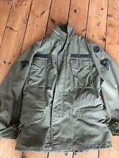 RARE 1ST PATTERN US army issue M65 FIELD jacket VIETNAM WAR OG 107
