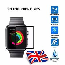 3D BORDER FULL COVERAGE TEMPERED GLASS SCREEN PROTECTOR FOR APPLE WATCH 1/2 42MM