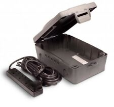 Masterplug IP54 resistente alle intemperie Fuori All'aperto Scatola Elettrica e 4 Socket 10m Piombo