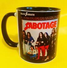 BLACK SABBATH SABOTAGE 1975 - ALBUM COVER ON A MUG.