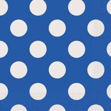 Tutto blu carta per la tavola per feste e party a tema principesse