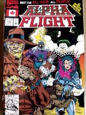 Alpha Flight n°110 1992  ed. Marvel Comics  [G.220]