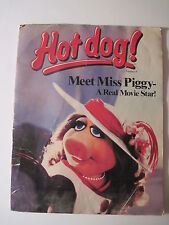 Hot Dog #9 (1981). Miss Piggy! (Muppet Show Muppets)