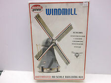 HO SCALE MODEL POWER MOTORIZED WINDMILL KIT  # 404 NOT IN BOX