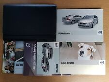 GENUINE VOLVO S80 HANDBOOK OWNERS MANUALS WALLET 2006-2009 PACK D-750