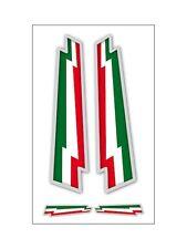 4 ADESIVI BANDIERA ITALIA IN VINILE VESPA MOTO SCOOTER CASCO SUPERCOOL auto 500